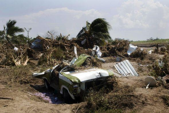 Grandes afectaciones también sufrió el sector agrícola, aunque se dijo q...