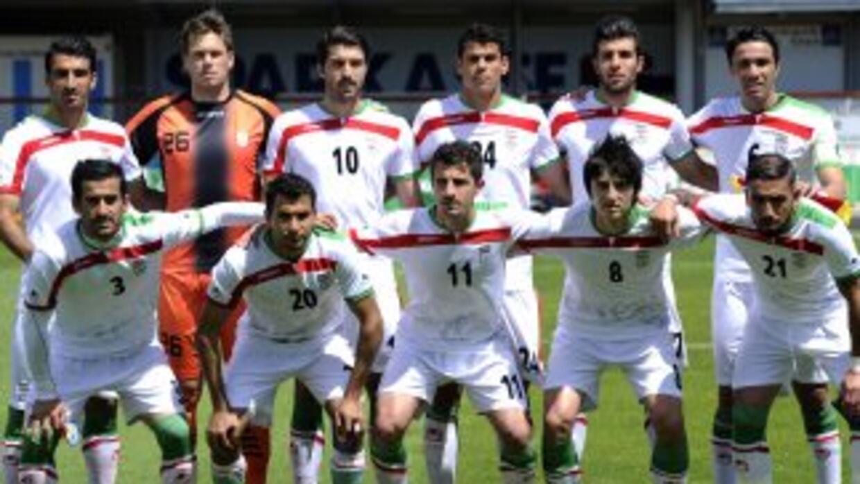 Selección Irán.