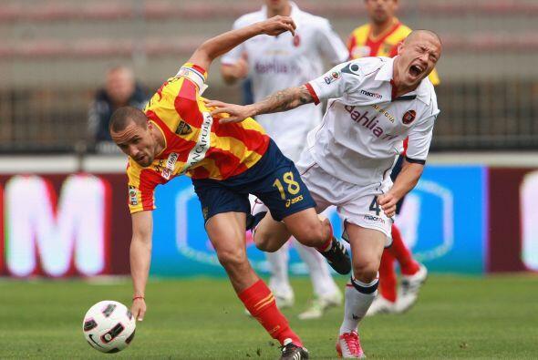 En un partido de locos, Lecce recibió al Cagliari.