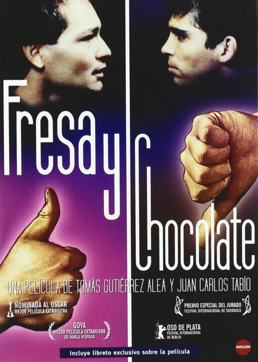 Fresa y chocolate(1993), Cuba, MéxicoDirector: Tomás Gutiérrez Alea, Jua...