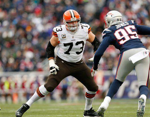Joe Thomas, tackle ofensivo de los Cleveland Browns (AP-NFL)