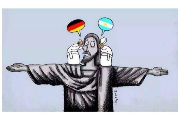 Los memes de la final del Mundial 2014 entre Alemania y Argentina no per...