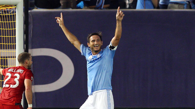 Happy Frank Lampard