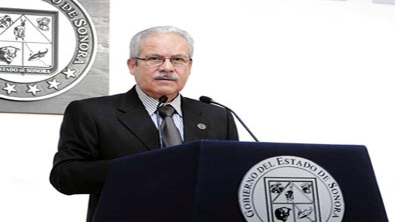 Carlos Manuel Villalobos, exsecretario de hacienda del gobierno de Sonor...
