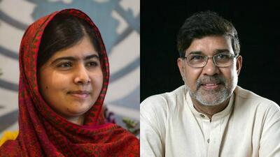 Malala Yousafzai y Kailash Satyarthi ganan el Nobel de la Paz