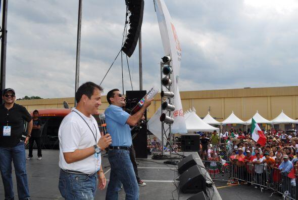 El talentoso equipo de Noticias 34 Atlanta estuve presente en la celebra...