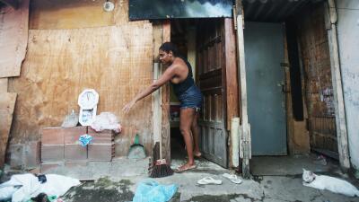 Pobreza en Brasil.