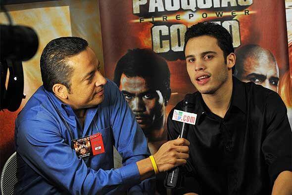 La presión de ser profesional e hijo de una leyenda del boxeo, la compar...