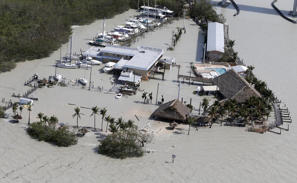 Los Cayos de Florida son unas de las zonas más arrasadas por el p...