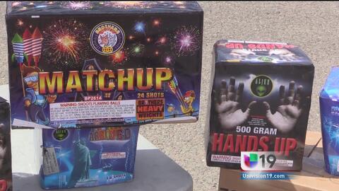 Alertan sobre el uso de fuegos artificiales en Stockton