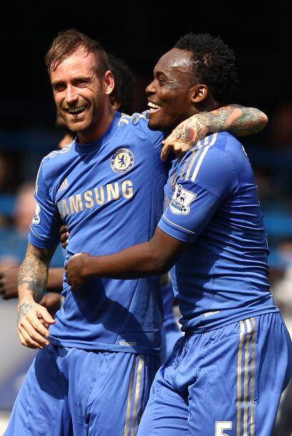 Con su gol ante Blackburn, los 'Blues' aseguraron la victoria.