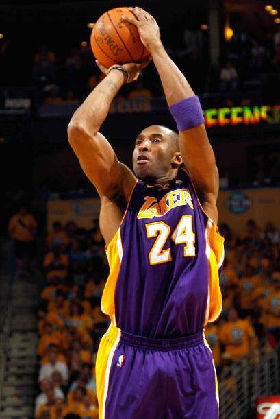 3 - Kobe Bryant de los Lakers de Los Angeles. El más ganador de esta lis...