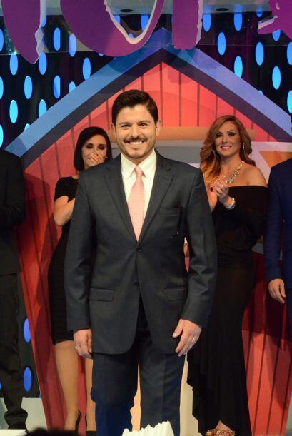 Ernesto Laguardía se puso en forma y así lo demostró.