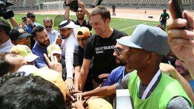 Visita sorpresiva: ¿qué está haciendo Tom Brady en Qatar?