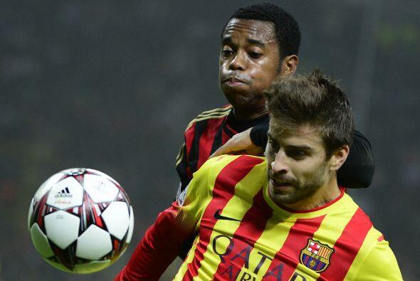Milan quería llevarse el partido por medio de los contragolpes, pero la...
