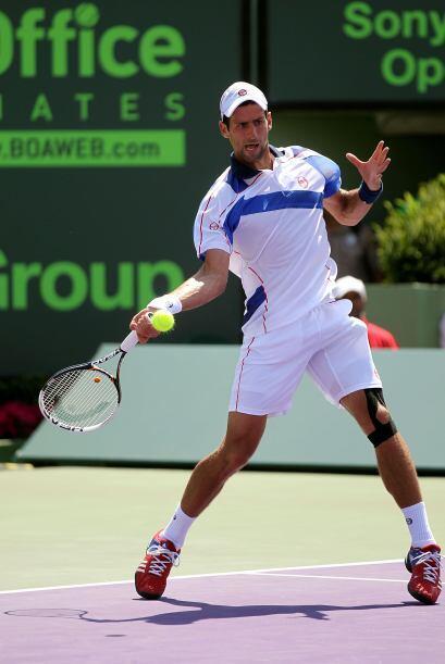 Con el triunfo, Djokovic se llevó $611,000 dólares  y mil puntos para el...