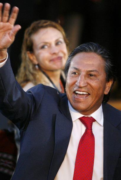 En una tendencia inversa, el ex presidente Toledo (65), estuvo punteando...