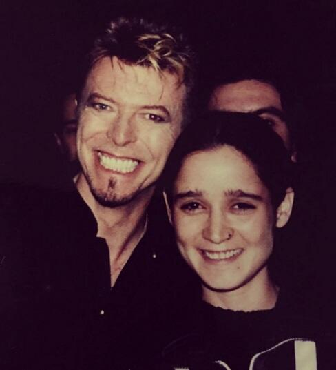 David Bowie y Julieta Venegas