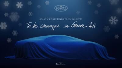 El nuevo bólido de Bugatti se alista para salir a escena con una velocid...
