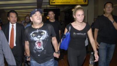 Maradona y Rocío no siguen juntos.