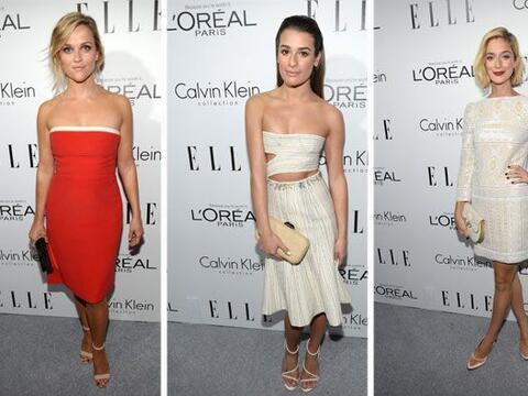 La revsta de moda Elle reunió a las mujeres más guapas de...