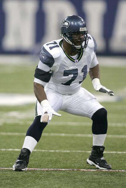 Walter Jones (T) SEA - 1997-2008Jones fue un miembro de los Seahawks cua...