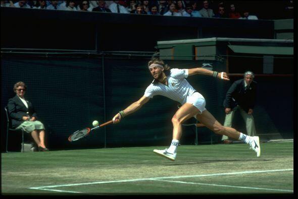 Con 11 títulos la leyenda sueca Bjorn Borg.