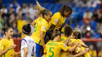 Brasil se impuso con claridad a las coreanas.
