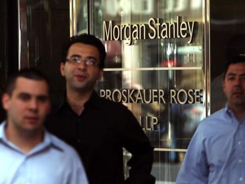 """MORGAN STANLEY """" El banco indicó el 28 de diciembre que suma..."""