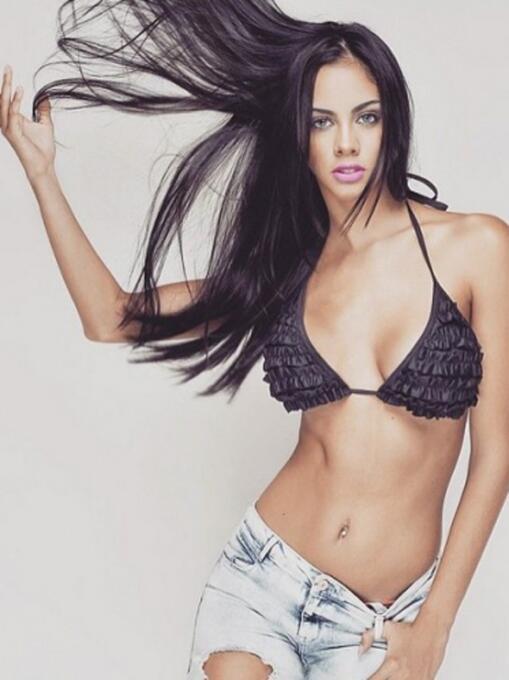 Guadalupe González quien fue Miss Paraguay 2013, es novia del jugador de...