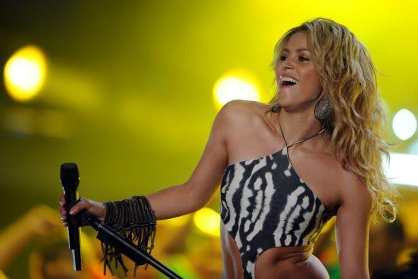 11. Shakira ¡Otra diva latina! La colombiana ha bajado un par de peldaño...
