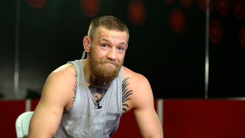 Conor McGregor dejó un enigmático twitt que pare el anunci...