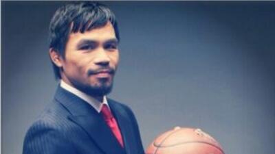Manny Pacquiao jugará básquetbol de manera profesional en Filipinas (Fot...