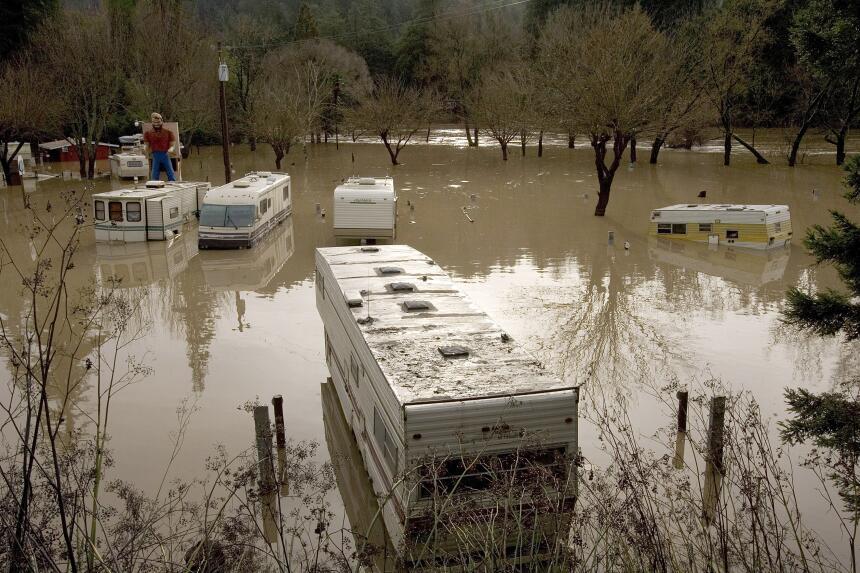 Entre finales de diciembre de 2005 y enero de 2006, las lluvias hicieron...
