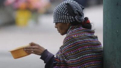 La pobreza en Guatemala.