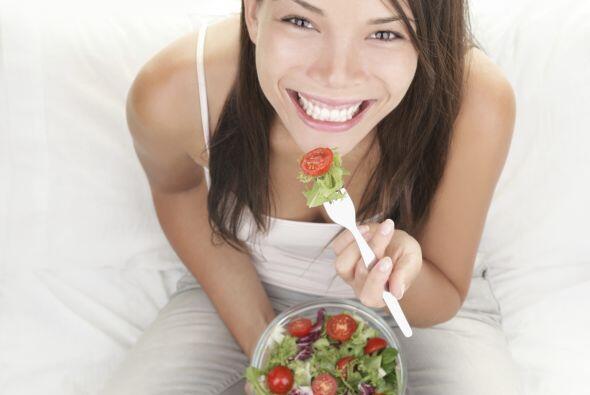 """Cuando de perder peso se trata, la ensalada vendría a ser """"la bue..."""