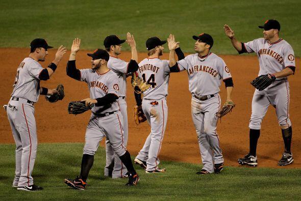 Los Gigantes de San Francisco se llevaron la mejor parte de una gran bat...