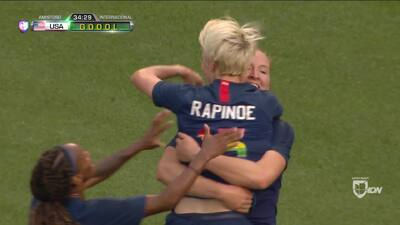Con dos goles a favor y uno en contra, el Team USA femenil logra vencer a China