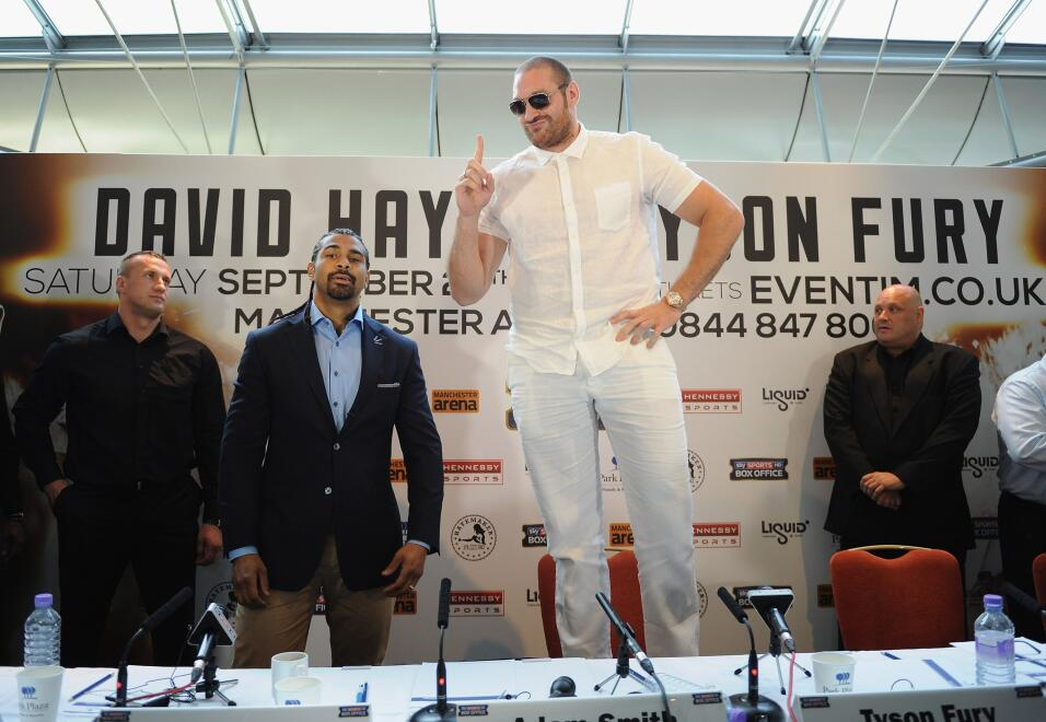 Tyson Fury podría recuperar su licencia en enero GettyImages-173268568.jpg