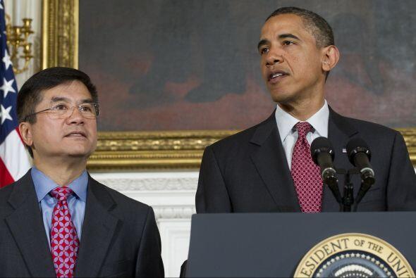 Locke fue nombrado embajador en Pekín en marzo pasado, puesto que podrá...