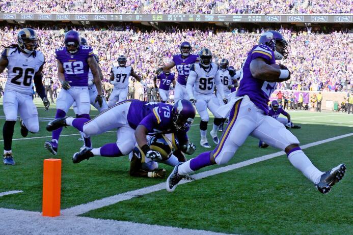 Los Vikings consiguieron su sexto triunfo de la temporada al derrotar a...