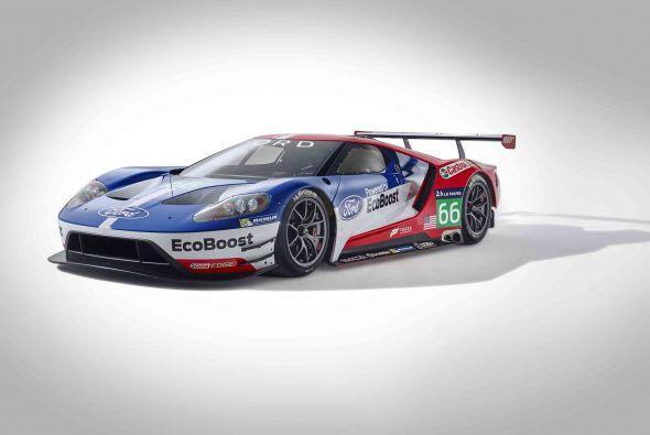 El motor EcoBoost V6 de 3.5 litros debutó en el Campeonato United Sports...