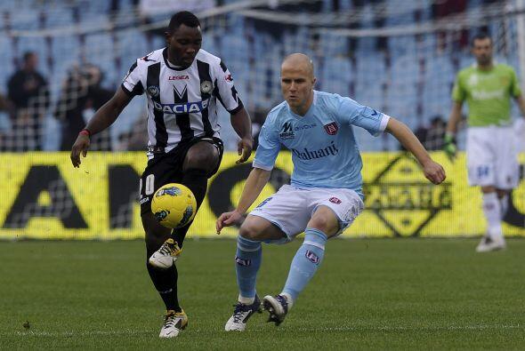 Esto porque el Udinese jugaba ante el Chievo Verona del estadounidense M...
