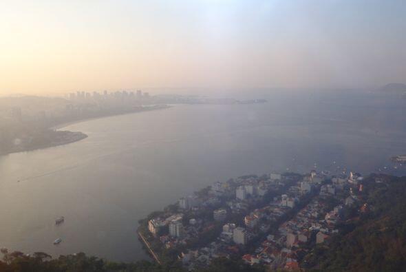 Otra impresionante vista de Río de Janeiro.