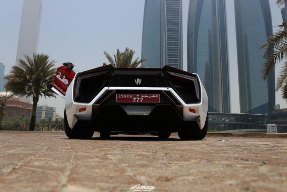 Lykan Hypersport Abu Dhabi Police