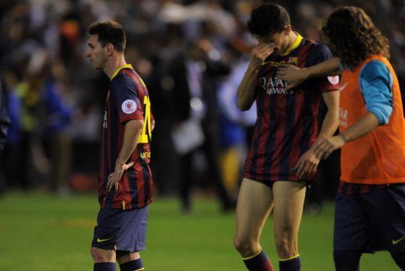 Final Copa ReyaTristeza del Barcelona en una mala temporada que parece s...