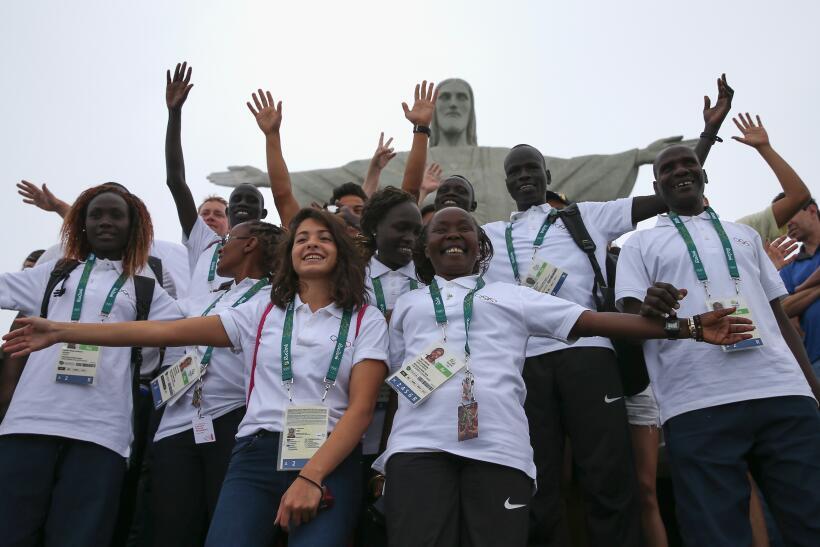 Diez atletas refugiados competirán bajo la bandera del Comit&eacu...
