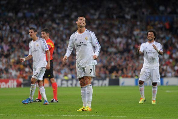 Cristiano se pudo dar el lujo de fallar algunos goles.