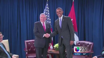 ¿De qué hablaron Castro y Obama en su segundo encuentro?