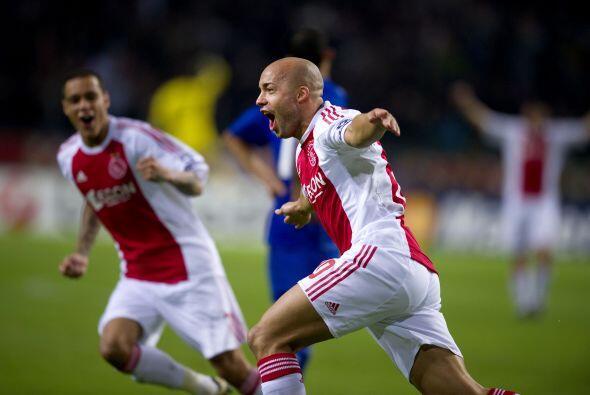 Los holandeses no tardaron mucho en abrir el marcador por conducnto de D...